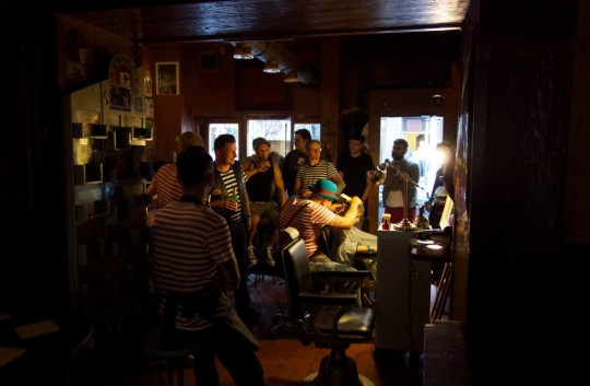 Barbersession in Bar